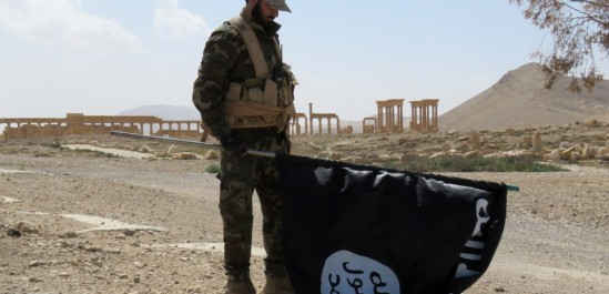 L'armée aux abords de Palmyre