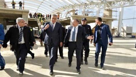 Réception en juillet 2018 de la nouvelle aérogare d'Alger