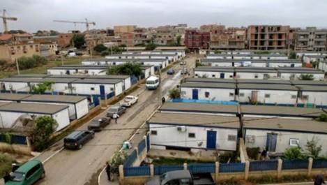 Boumerdès: 125 familles de Tidjelabine extraites des chalets pour des logements en dur