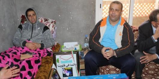Eboulement de Kouchet El Djir à Oran: La Radieuse soutient la famille de la regrettée Sihem