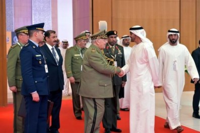 Gaïd Salah reçu à Abou Dhabi par de hauts responsables émiratis
