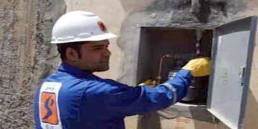 Village de Djfafla: Raccordement des foyers au gaz naturel