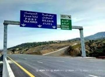 Béjaïa : l'ouverture partielle de la pénétrante fixée au 2 mars prochain