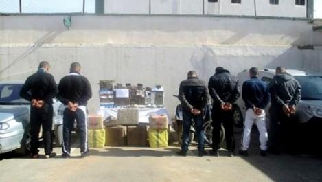 6 narcotrafiquants interceptés et plus de 3 quintaux de kif saisis à l'Ouest et au Sud du pays (MDN)