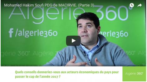 Vidéos: Interview de Mohammed Hakim SOUFI, PDG de Macirvie