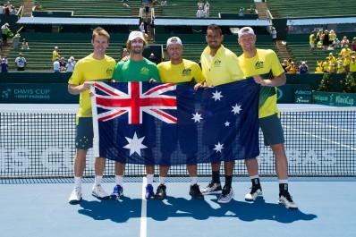 Tennis Coupe Davis Serbie, France, Australie et USA en quarts, l'Argentine en sursis