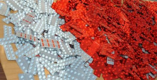 Alger : Près de 3000 comprimés de psychotropes saisis