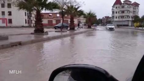 Fortes précipitations à El Tarf : 25 familles secourues.