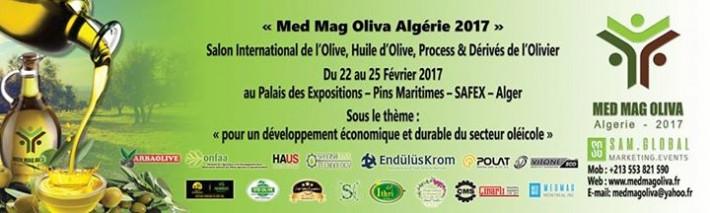 MED MAG OLIVA Algérie 2017: Salon International de l'Olive, Huile d'Olive, Process & Dérivés de l'Olivier