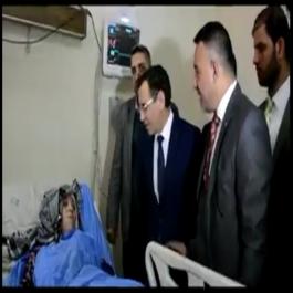 Un représentant de l'ambassade d'Algérie en Irak rend visite à Samira Mouaki (vidéo)