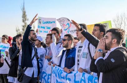 Grève des étudiants en biomédical, en pharmacie et en chirurgie dentaire:  Le bras de fer continue