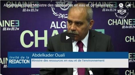 Le ministre des Ressources en eau annonce une prochaine révision à la hausse de la tarification de l'eau