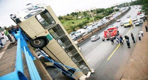Accidents de la circulation en zone urbaine: 12 morts et 211 blessés en une semaine