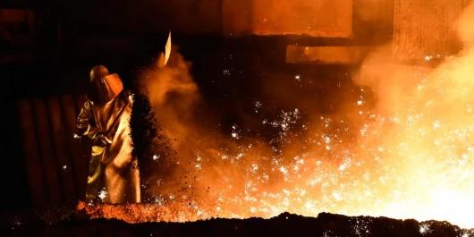 Aciérie de Cevital en Italie: Les travailleurs en grève.