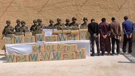 L'armée nationale assèche les réseaux du trafic de cannabis: Le Maroc risque l'implosion