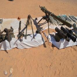 Terrorisme: Des armes lourdes découvertes près de la frontière avec le Niger