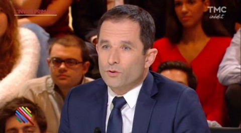 France: Le candidat socialiste Benoît Hamon veut reconnaître l'état palestinien s'il est élu président