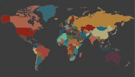 Une carte sonore et interactive des différentes langues du monde