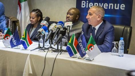 « Condor Electronics »  Reçoit son Excellence  L'Ambassadeur AFRIQUE DU SUD