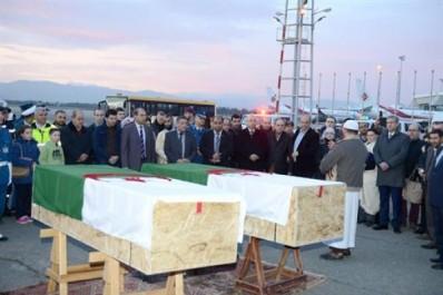 Arrivée à Alger des dépouilles des deux victimes algériennes de l'attentat de Québec.