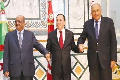 """Réunion ministérielle en Tunisie sur la Libye: La """"Déclaration de Tunis"""" comme nouvelle base de travail"""