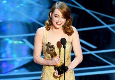 Oscars 2017: Emma Stone sacrée meilleure actrice