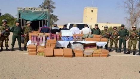 Neuf narcotrafiquants arrêtés et plus de 7 quintaux de kif traité saisis à Tlemcen et Tissemsilt.