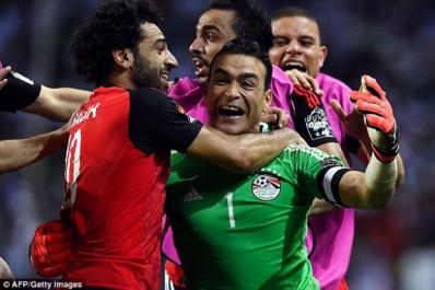 CAN 2017 : A 44 ans, EL-Harady arrête deux penaltys et envoie l'Egypte en finale