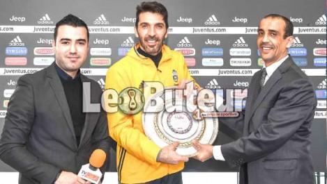 Le Buteur et  El Heddaf  honorent Buffon à Turin
