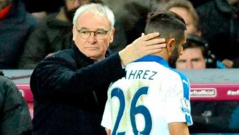 Ranieri à propos de Mahrez: «Il ne faut pas ……….»