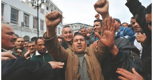 Les radiés du Service national n'ont pas marché sur Alger