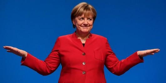 Des réfugiés syriens en Allemagne nomment leur bébé Angela Merkel Muhammed