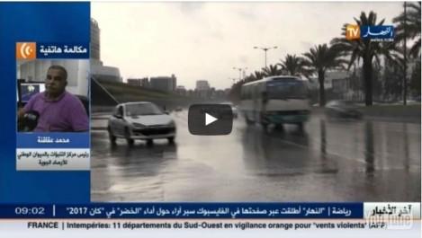 Alerte Météo: Pluie et vents violents sur le nord du pays dès mardi soir (Vidéo)