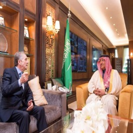L'ambassadeur algérien en Arabie Saoudite reçu par le prince héritier Mohammed Ben Nayef