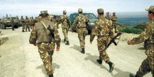 Lutte antiterroriste: Découverte d'un lot d'armes et destruction de 8 casemates