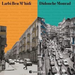 Raï VS Chaâbi, Santa Cruz VS Notre Dame, MCO VS MCA … ce graphiste compare Oran et Alger