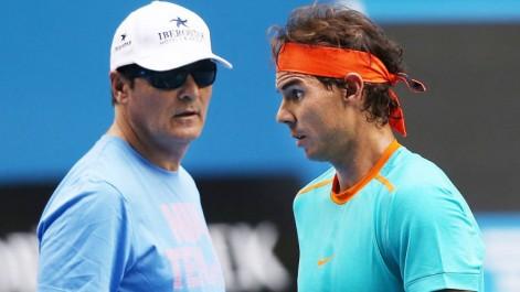 Tennis: Rafael et Toni Nadal commencent à prendre leurs distances