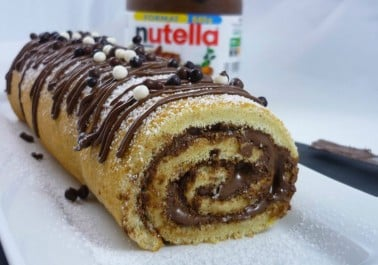 Roulé au Nutella super facile