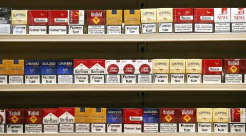 Tebessa: Saisie de 22250 paquets de cigarettes de contrebande