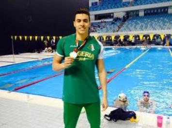 Meeting de Nice (nage libre) : l'Algérien Sahnoune remporte l'or du 50 m et l'argent du 100 m