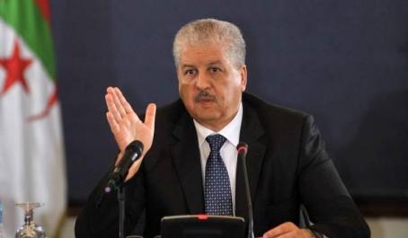 21ème session de La grande commission mixte Algéro-Tunisienne : Sellal à Tunis aujourd'hui
