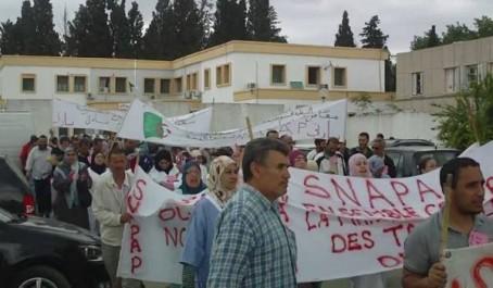Béjaïa: Rassemblement des délégués syndicaux du Snapap
