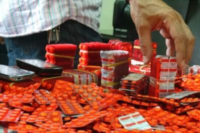 Six narcotrafiquants arrêtés en possession d'une importante quantité de drogue