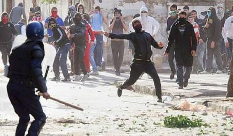 Un phénomène aux allures inquiétantes: La violence s'enracine.
