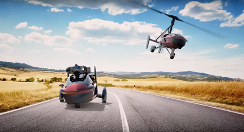 Une voiture volante en vente en Europe dès 2018