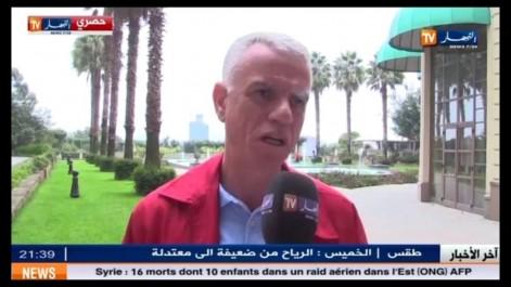 """Djahid Zefzef:  """"C'est Raouraoua qui m'a invité à rejoindre Zetchi"""""""