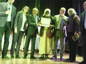 Tizi-Ouzou Maison de la culture Mouloud Mammeri Les lauréats du concours de dictée en Tamazight primés