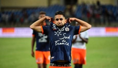 Il compile 9 réalisations et 7 passes décisives en 23 rencontres avec le MHSC : Boudebouz, l'Héraut de Montpellier