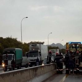 Carambolage impliquant 7 véhicules et un camion à Boumerdès