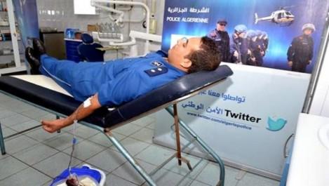 La DGSN organise une campagne nationale de don de sang